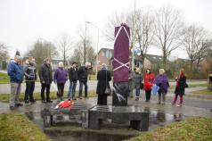 Onthulling Zuil Noorderpark